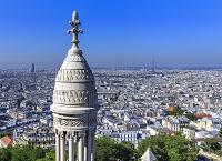 フランス パリ サクレ・クール寺院よりパリ市街眺望