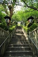 兵庫県 神戸市 北野 北野天満神社 参道