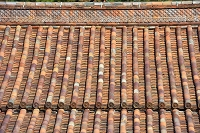 岡山県 閑谷学校講堂(国宝)の大屋根