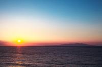 静岡県 下田市 白浜海岸の朝日