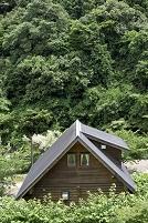 大阪府 岸和田市 森のロッジ