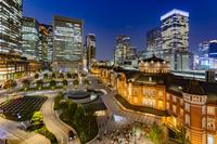 東京都 東京駅 夜景