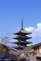 京都府 冬の八坂の塔
