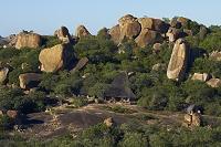 ジンバブエ マトボ国立公園