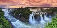 ブラジル イグアス国立公園 滝