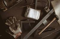 道具と軍手
