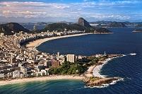 ブラジル リオデジャネイロ イパネマ・コパカバーナビーチ