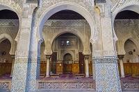 モロッコ フェズ メディナ(旧市街) アッターリン・マドラサ