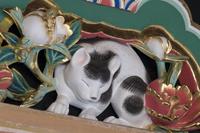 栃木県 日光東照宮 眠り猫(平成の大修理完成後)
