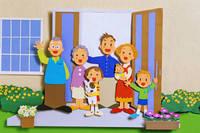 家族   (ペーパークラフト)