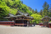 群馬県 新緑の妙技神社 本殿