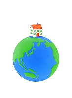 地球とマイホーム