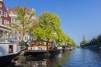 オランダ アムステルダム 運河