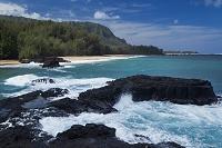 ハワイ カウアイ島 ルマハイ・ビーチ
