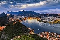 ブラジル リオ フラメンゴビーチと街並み