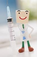 注射器と医者のクラフト