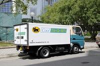 シンガポール 日本企業のトラック