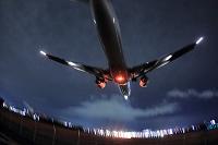 ボーイング767 夜間着陸 ANA