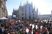 イタリア ミラノ大聖堂 ミラノ・シティ・マラソン