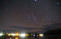 ニュージーランド 南半球で見るオリオン座