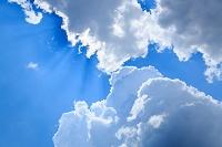 高知県 青空と雲