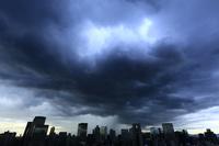 大阪府 ゲリラ豪雨と雨雲