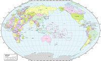 世界全図 行政区分図
