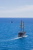 トルコ  アンタルヤ 船