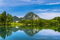 新潟県 高浪の池と明星山