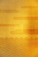 金屏風の波と雲海