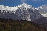 長野県 新雪の白馬鑓ヶ岳
