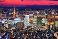 東京都 東京スカイツリーより夜景