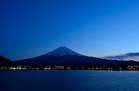 山梨県 河口湖 富士山