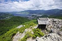 香川県 碁石山より望む内海湾