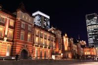 東京都 東京駅の夜景