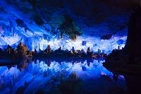 中国 桂林 芦笛岩