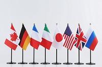G8 国旗イメージ