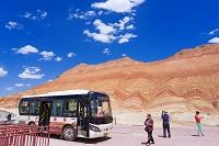 中国 シルクロード 張掖 丹霞地質公園