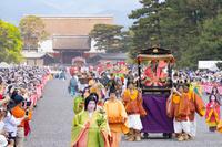 京都府 葵祭 路頭の儀 斎王代