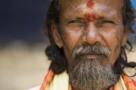 インド人中年男性