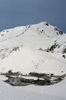 富山県 春の立山 地獄谷と奥大日岳