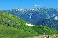 岐阜県 乗鞍・大黒岳から北アルプスの山々遠望
