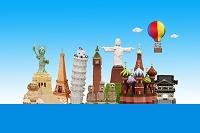 熱気球で地球を旅する