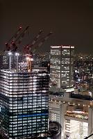 大阪府 夜の大阪北ヤード