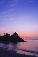 石川県 曽々木海岸夕景