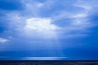 イスラエル 死海地方 クムラン 雲