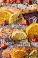 銀鮭のオーブン焼き