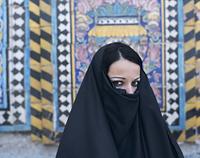 イラク 女性のポートレート