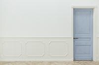 扉と壁の背景素材
