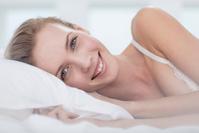 肌のきれいな女性の美容